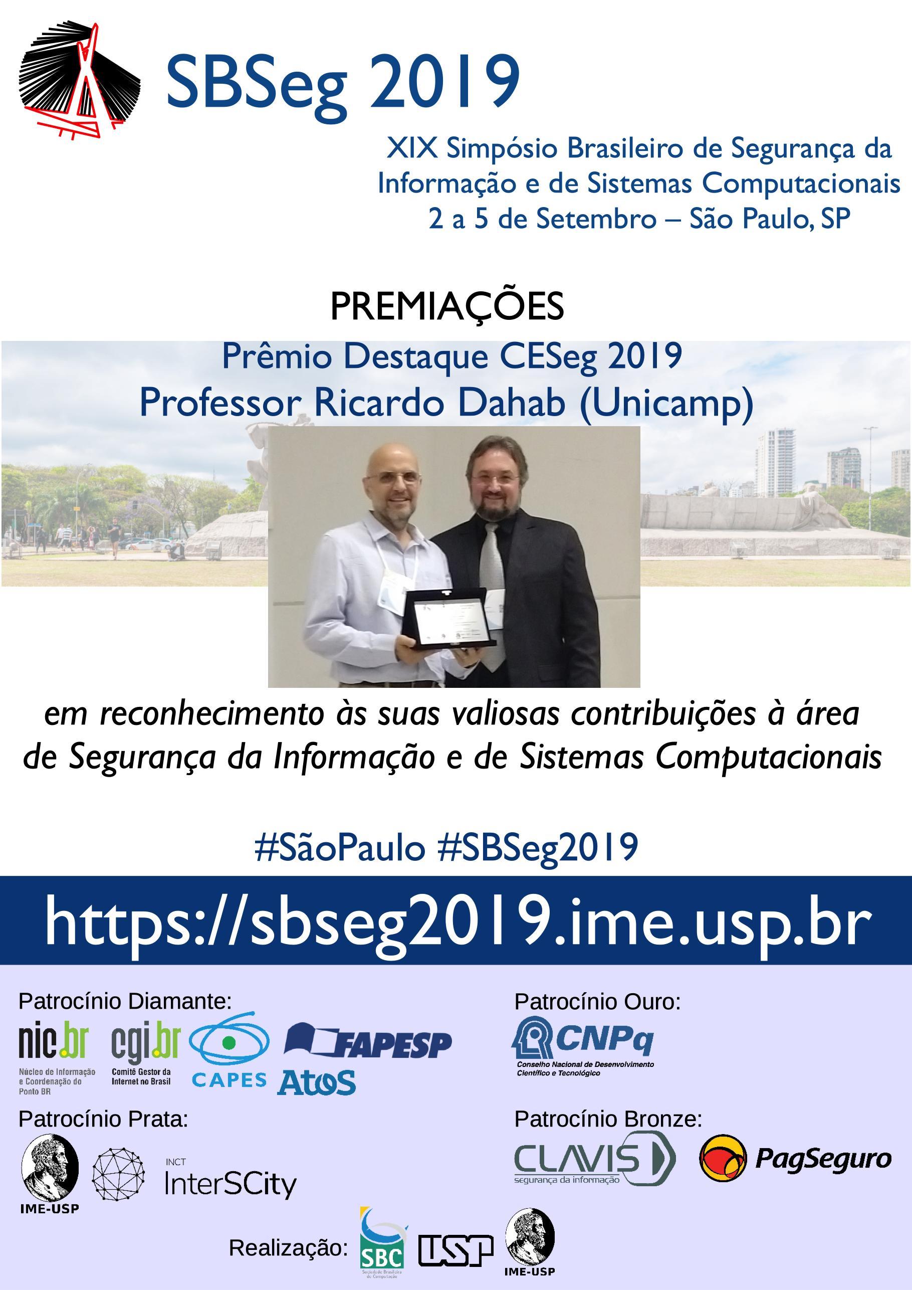 Destaque CESeg 2019
